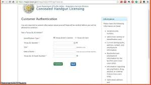 how to apply online for the texas concealed handgun license chl