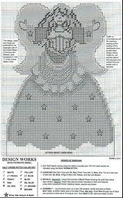 297 best plastic canvas angels images on pinterest plastic