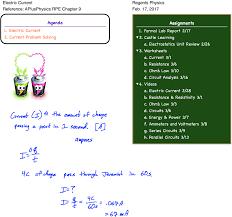 Parallel Circuit Problems Worksheet Current Archives Regents Physics