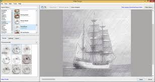 quick convert image to pencil sketch using filter forge designeasy