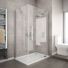 tile ideas for downstairs shower stall for the home apollo frameless rh hinged door rectangular enclosure doors