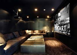 modern house appealing media room design inside miami beach