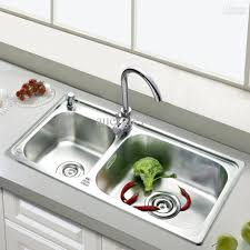bathroom faucet kitchen sink flow rate single hole with two