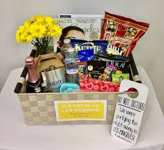 gift baskets los angeles gift baskets and dapper custom party decorations