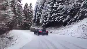 subaru drift snow drop everything and watch this mustang vs lamborghini drift battle
