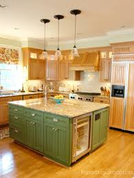 green kitchen islands projects idea of kitchen island colors wonderfull design green