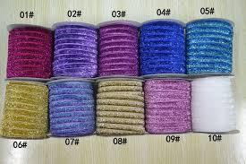 velvet ribbon by the yard new arrive 3 8 10mm glitter velvet ribbon metallic velvet
