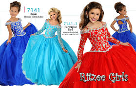 pageant dresses for ritzee 7141 pageant dress madamebridal