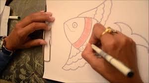 madhubani paintings 5 fish paintings youtube