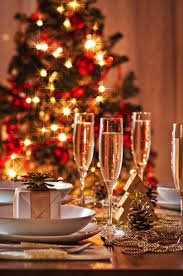 Christmas Dining Room Decorations Christmas Party Table Decorations Ideas