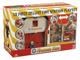 amazon fireman sam deluxe fire station playset character