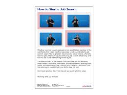 job success how to start a job search dvd first version u2014 asl