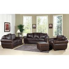 leather sofa ottoman scinavian leather sectional couch with