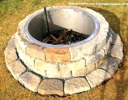 Fire Pit Liners by Custom Stainless Steel Fire Pit Insertsliners With Without Top