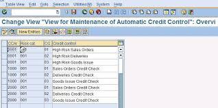sales order table in sap sap treasure box credit control at sales order
