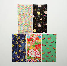 Japanese Gift by Japanese Flora And Fauna Jumbo Sized Money Envelopes Gift Card