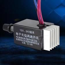 fan motor speed control switch dc 12v 24v 10a motor speed controller switch for car truck fan