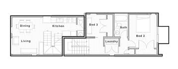 sustainable floor plans vertical house raises sustainable seattle living to new heights