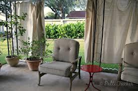 Outdoor Canvas Curtains Pretty Drop Cloth Outdoor Curtains Canvas Patio Ideas