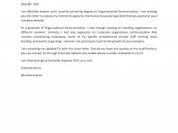 Communications Cover Letter Addressing A Cover Letter To Human Resources Images Cover Letter
