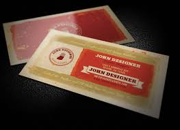 grungy artistic business card template 1 design panoply