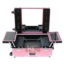 makeup case with lights and mirror professional makeup trolley luggage case lighted professinal makeup