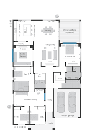 Double Garage Dimensions by Monaco Floorplans Mcdonald Jones Homes