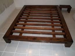 bed frame for queen mattress elegant wooden style queen size bed