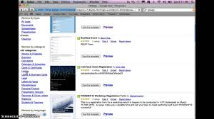 google forms templates youtube