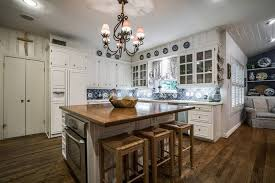 kitchen with butcher block island 47 beautiful country kitchen designs pictures designing idea