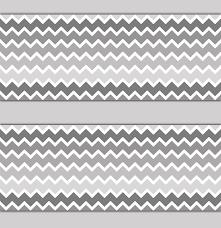 gray grey ombre chevron wallpaper border wall decals boy 543