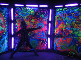 blacklight party ideas glow in the and black light party ideas backdrops