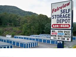 Extra Space Storage Boxes Fairview Self Storage Depot And Penske Fairview Nc 28730 Yp Com