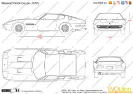 maserati vector the blueprints com vector drawing maserati ghibli coupe
