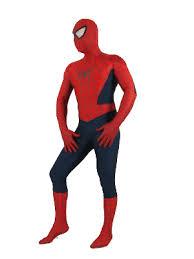 blue u0026 red spiderman spandex superhero zentai suit
