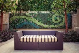 Wall Decor For Outdoor Patios Outdoor Living Natural Home With Facade Vertical Garden Outdoor