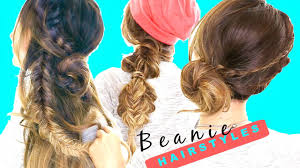 easy back to hairstyles cute quick and easy braids for 3 cute back to hairstyles easy beanie braids for long