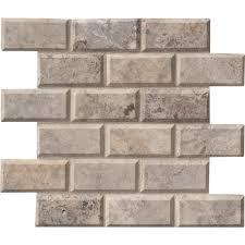 gray mosaic tile tile the home depot