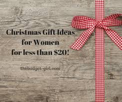 frugal christmas gift ideas for women for under 20 the budget