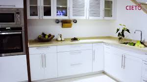 guangzhou manufacture australia modern high quality white kitchen