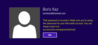 reset windows 8 password hotmail how to log in to windows 8 if you forgot microsoft account password