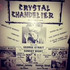 Chandelier Advertising George Strait U0027s