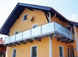 balkone alu balkongeländer alu glas