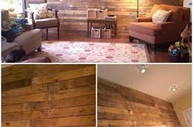 ideas wood wall living room faux for rooms decor accent