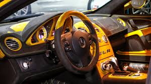 mercedes mclaren 2017 yellow hamann volcano mercedes benz slr for sale gtspirit