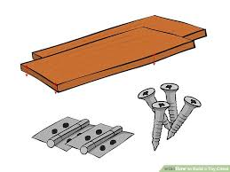 How To Build A Wood Toy Box Bench by How To Build A Toy Chest 14 Steps With Pictures Wikihow