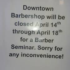 downtown barbershop home facebook