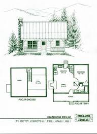 small home floorplans log home package kits log cabin kits silver mountain model has