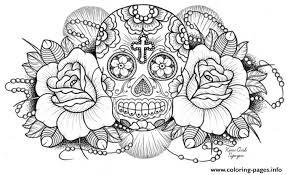 printable coloring pages sugar skulls sugar skull coloring page sugar skull coloring pages free printable