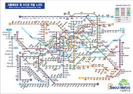 Korea Subway Map by Seoul Metro Koreanow Consultation